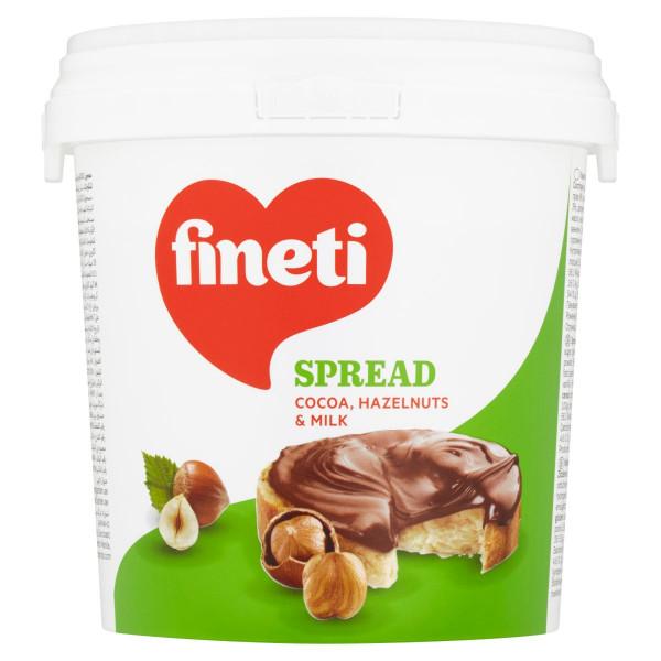 Fineti nátierka, kakao lieskový orech a maslo 1kg 1