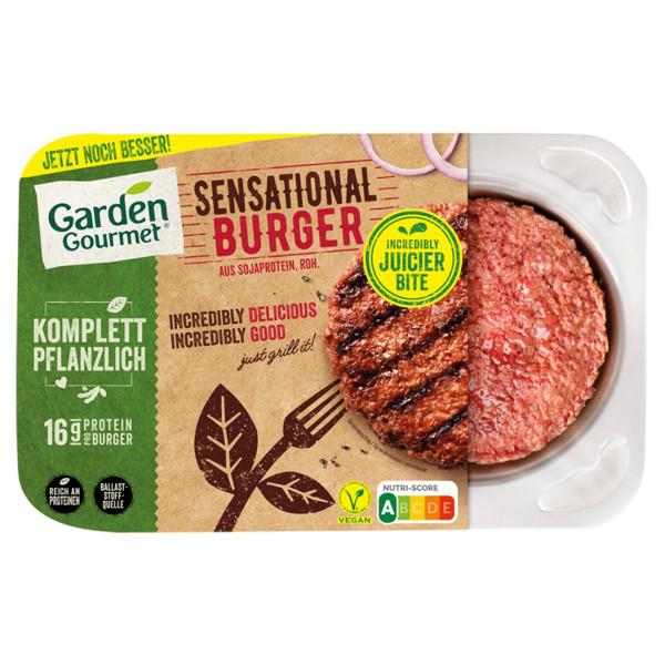 Vegan Sensational burger, Garden Gourmet 226g 1