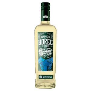 BOREC Borovička s horcom 38% 0,7 l 3