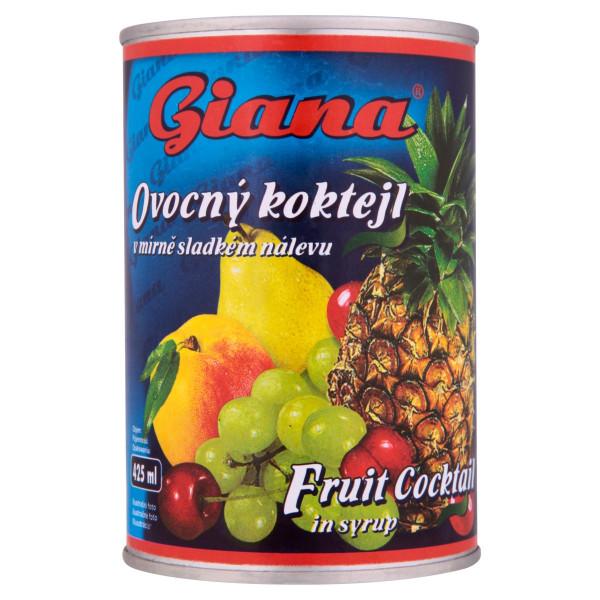 Kompót ovocný koktail GIANA 425ml 1