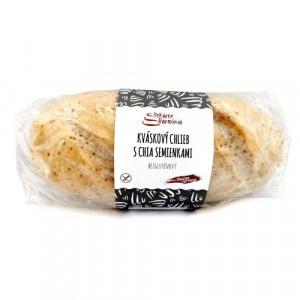 Chlieb kváskový s chia bezglut.mr.,P.Harmónia 400g 6