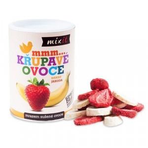Chrumkavé ovocie Banán a jahoda 80g, Mixit 4