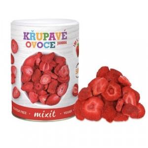 Chrumkavé ovocie Jahoda 50g, Mixit 5