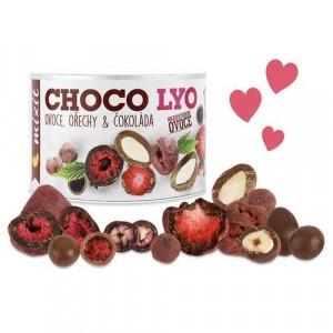Chrumkavé ovocie a orechy v čokoláde 180g, Mixit 6