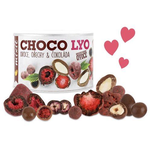 Chrumkavé ovocie a orechy v čokoláde 180g, Mixit 1
