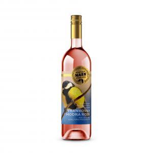 Víno r. Frank. modrá Rosé, Naše vinohrady 0,75l SK 31