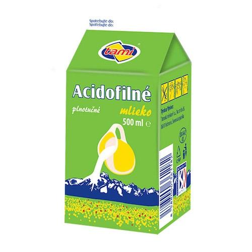Mlieko acidofilné 3,6% 500ml VÝPREDAJ 1