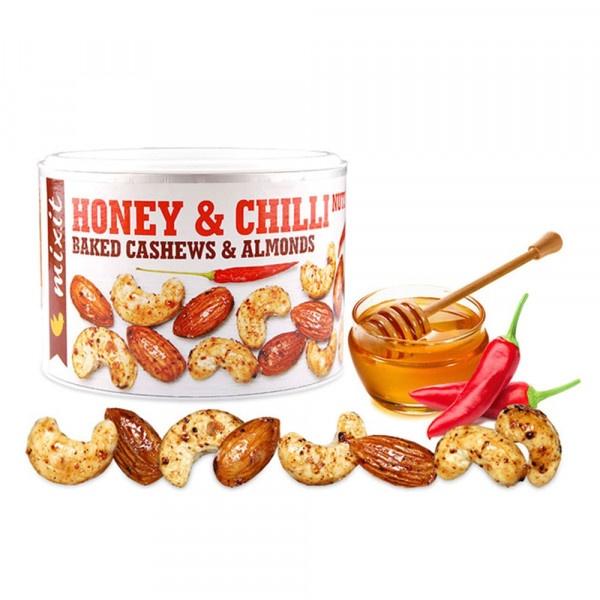 Orechy z pece Med a chilli 140g, Mixit 1