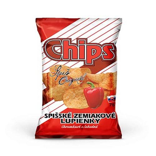 Spišské zemiakové lupienky paprikové 75G 1