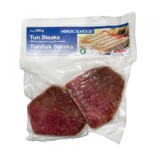 Tuniak žltoplutvý steaky bez kože a kostí 2x125g 1