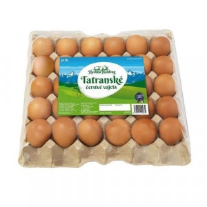 Vajcia tr. A M 30ks bal., klietkový chov,Tatranské 31