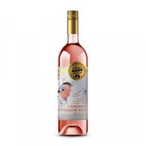 Víno r. Cabernet polosuché,Naše vinohrady 0,75l SK 2