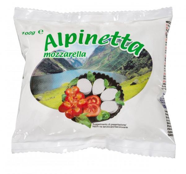 Mozzarella Alpinetta, JÄGER 100g VÝPREDAJ 1