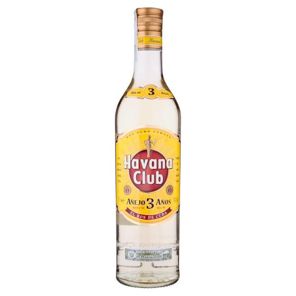 Havana Club Anejo 3 Anos Kubánsky Rum 40% 0,7 l 1