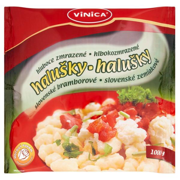 Zemiakové halušky mrazené 1kg 1
