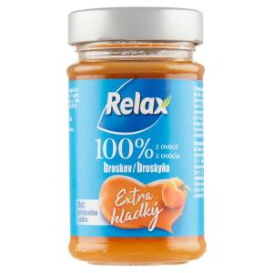 Relax Extra hladký 100%, ov.nátierka Broskyňa 220g 5