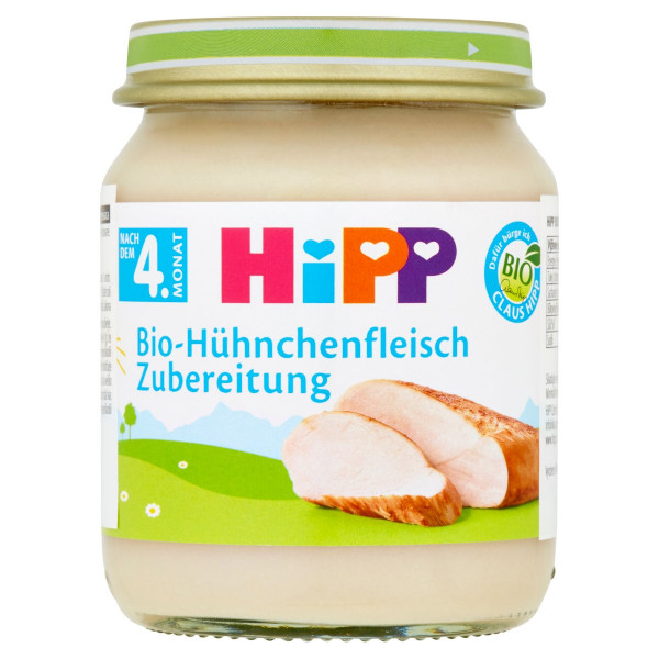 HiPP BIO Kuracie mäso, 125g 1