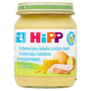 HiPP BIO Zemiak.pyré s kuku. a morč. mäsom, 125g 7