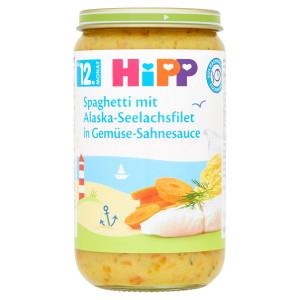 HiPP Špagety rybou a zeleninou v smot.omáčke, 250g 2