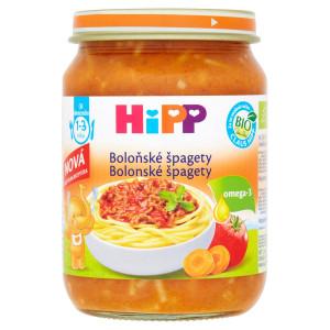 HiPP BIO Bolonské špagety príkrm, 250g 1