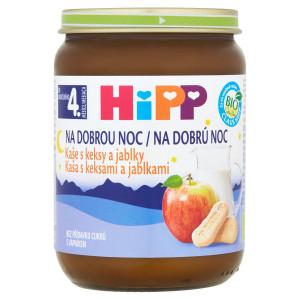 HiPP BIO Kaša na dobrú noc Keksy a jablko, 190g 10