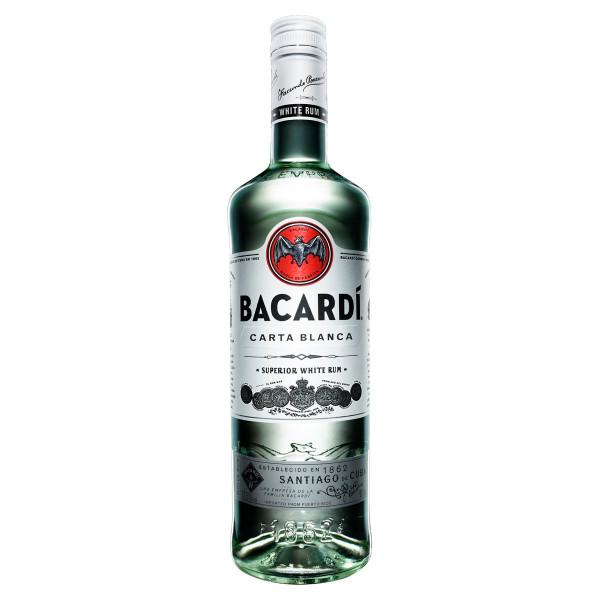 Bacardi Carta Blanca Rum 37,5% 1 l 1