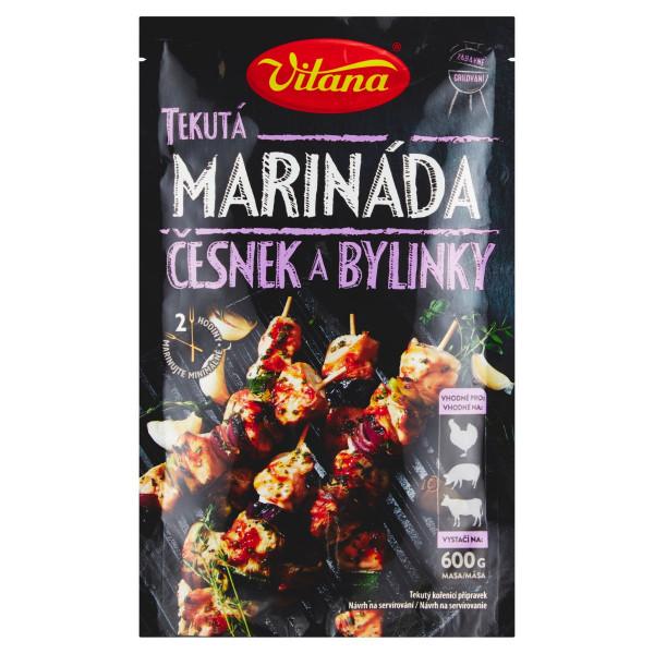 Vitana Tekutá marináda cesnak a bylinky 80g 1