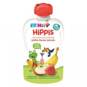 HiPP BIO 100% ovocie Jablko-Banán-Jahoda, 100g 6