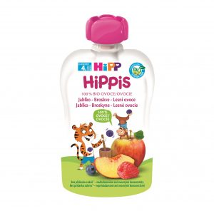 HiPP BIO 100% ovocie Jablko-Brosk.-Lesné ov., 100g 10