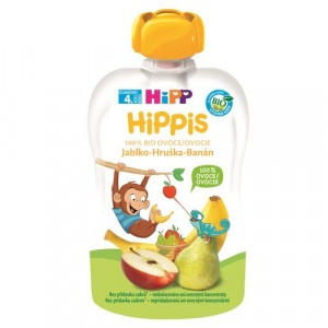 HiPP BIO 100% ovocie Jablko-Hruška-Banán, 100g 6