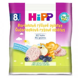 HiPP BIO Čučoriedkové ryžové oblátky, 30g 19