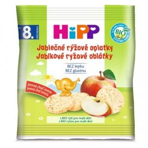 HiPP BIO Jablkové ryžové oblátky, 30g 20
