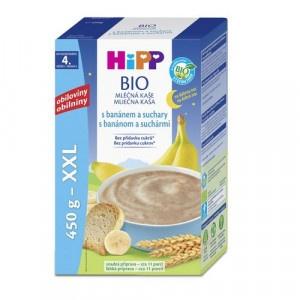 HiPP BIO Ml.kaša na dobrú noc Banán suchár, 450g 19