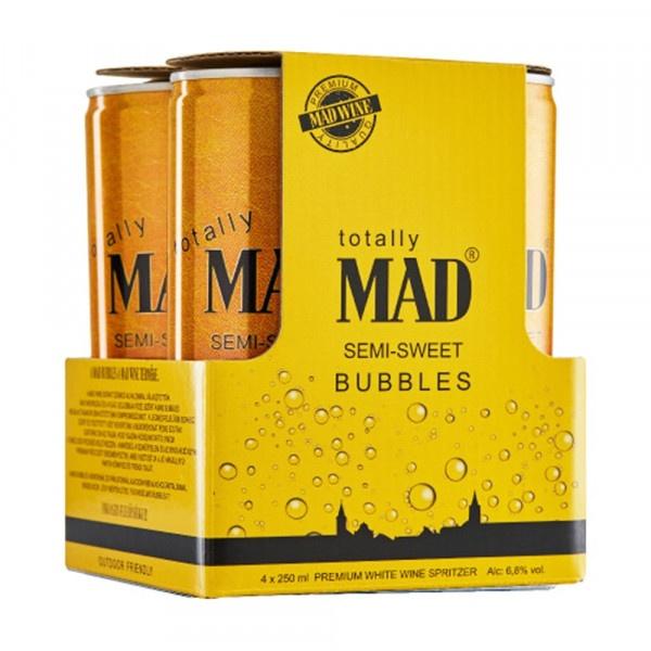 Mad Bubbles polosladké Szmolniczky 4x250ml 1