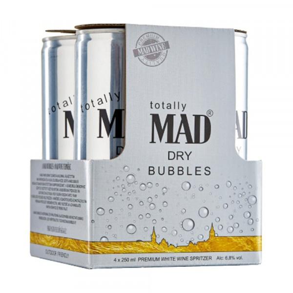 Mad Bubbles suché Szmolniczky 4x250ml 1