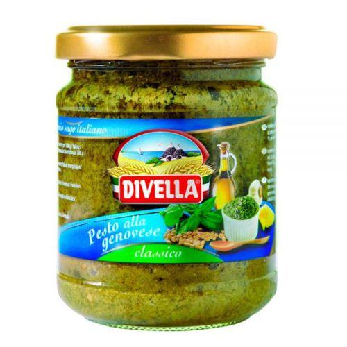 Pesto bazalkové DIVELLA 190g sklo 1