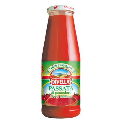 Pyré paradajkové Passata di pomodoro DIVELLA 680g 1