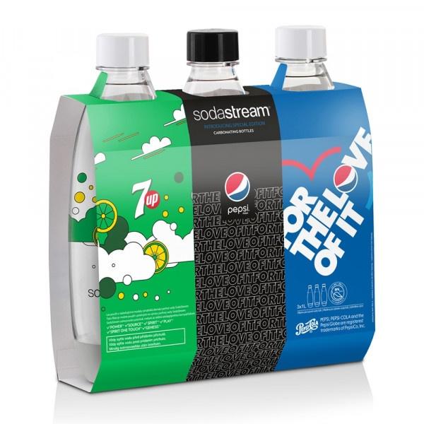SodaStream TriPack Fľaša FUSE 1l 3ks Pepsi 2