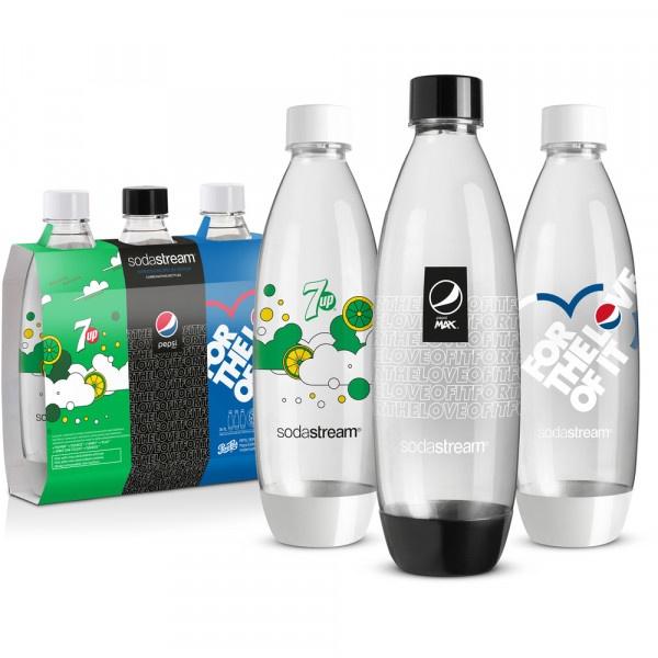 SodaStream TriPack Fľaša FUSE 1l 3ks Pepsi 1