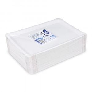 Tácky papierové 130x200 mm biele, 100ks 17