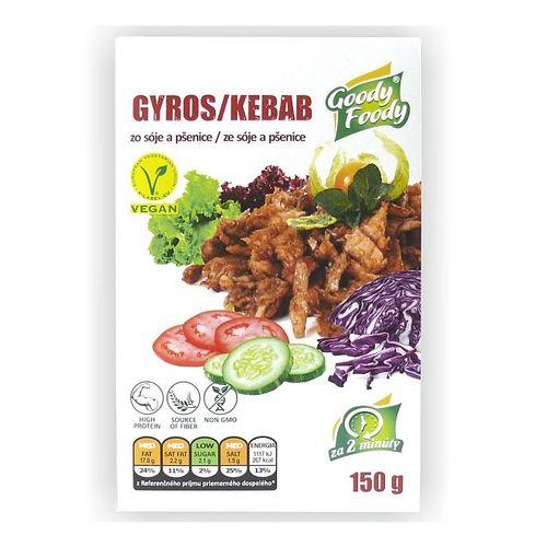 Vegánsky Gyros & Kebab 150g, Goody Foody VÝPREDAJ 1