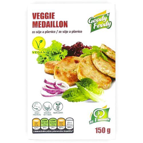 Vegánsky Veggie medailónik 150g, Goody Foody 1
