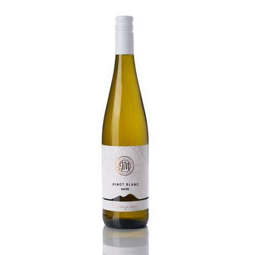 Víno b. Pinot Blanc suché, JM Doľany 0,75l SK 1