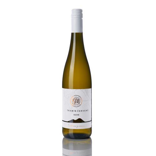Víno b. Tramín červený suché, JM Doľany 0,75l SK 1