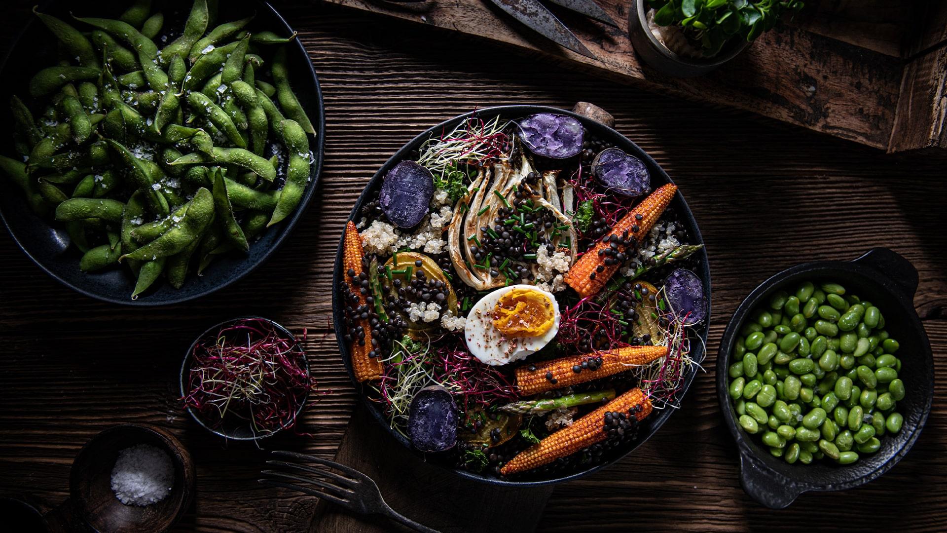 Zdravší farebnejší tanier