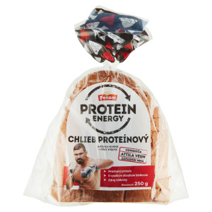 Chlieb proteínový krájaný balený PENAM 250 g 6