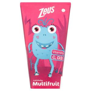 Zeus S príchuťou multifruit 200ml 3