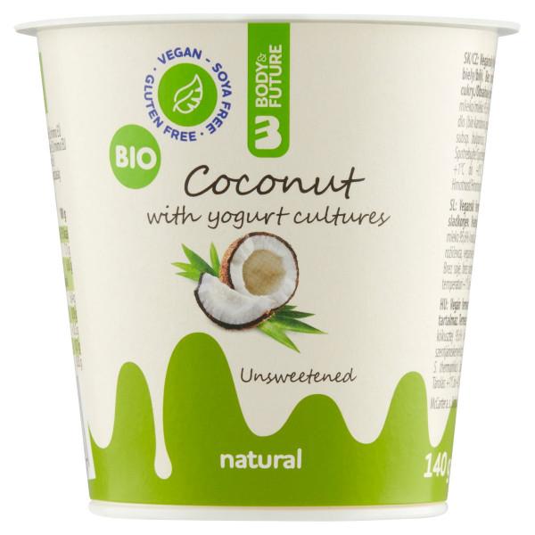 Body&Future Coconut Natural (biely) 140g VÝPREDAJ 1