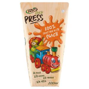 Rio Cold Press 100% Ovocný mix s broskyňami 200ml 4