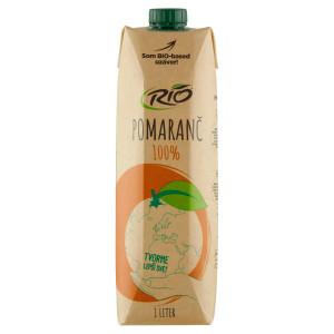 Rio 100% pomaranč 1l 17